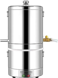Matériel De Distillation Expérimentale Unité De Distillation en Labo Acier Inoxydable Refroidissement Médecine À La Maison...