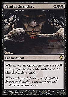 Magic: the Gathering - Painful Quandary - Scars of Mirrodin