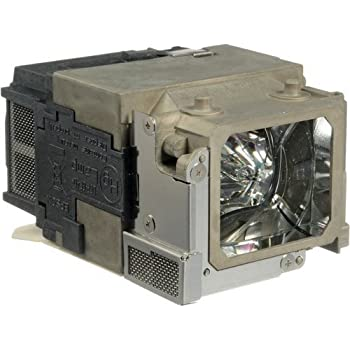 Projector Lamp Assembly with Genuine Original Osram P-VIP Bulb Inside. Powerlite 1750 Epson Projector Lamp Replacement