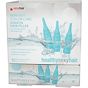 Sexy Hair Healthy Reinvent Color Care Repairing Treatment Keratin Filler 10-Count 9.75 ml
