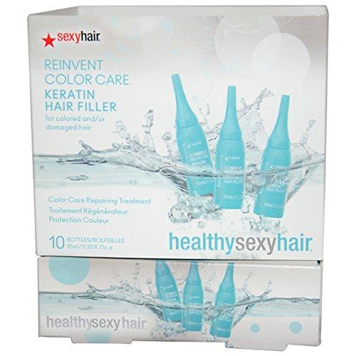 Sexyhair Haarverzorging, haarverf, keratine, per stuk verpakt (1 x 10 ml)