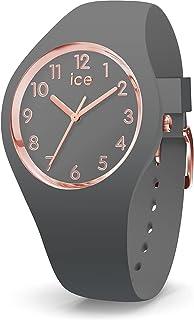 Ice-Watch - Ice Glam Colour Grey - Montre Grise pour Femme avec Bracelet en Silicone - 015332 (Small)