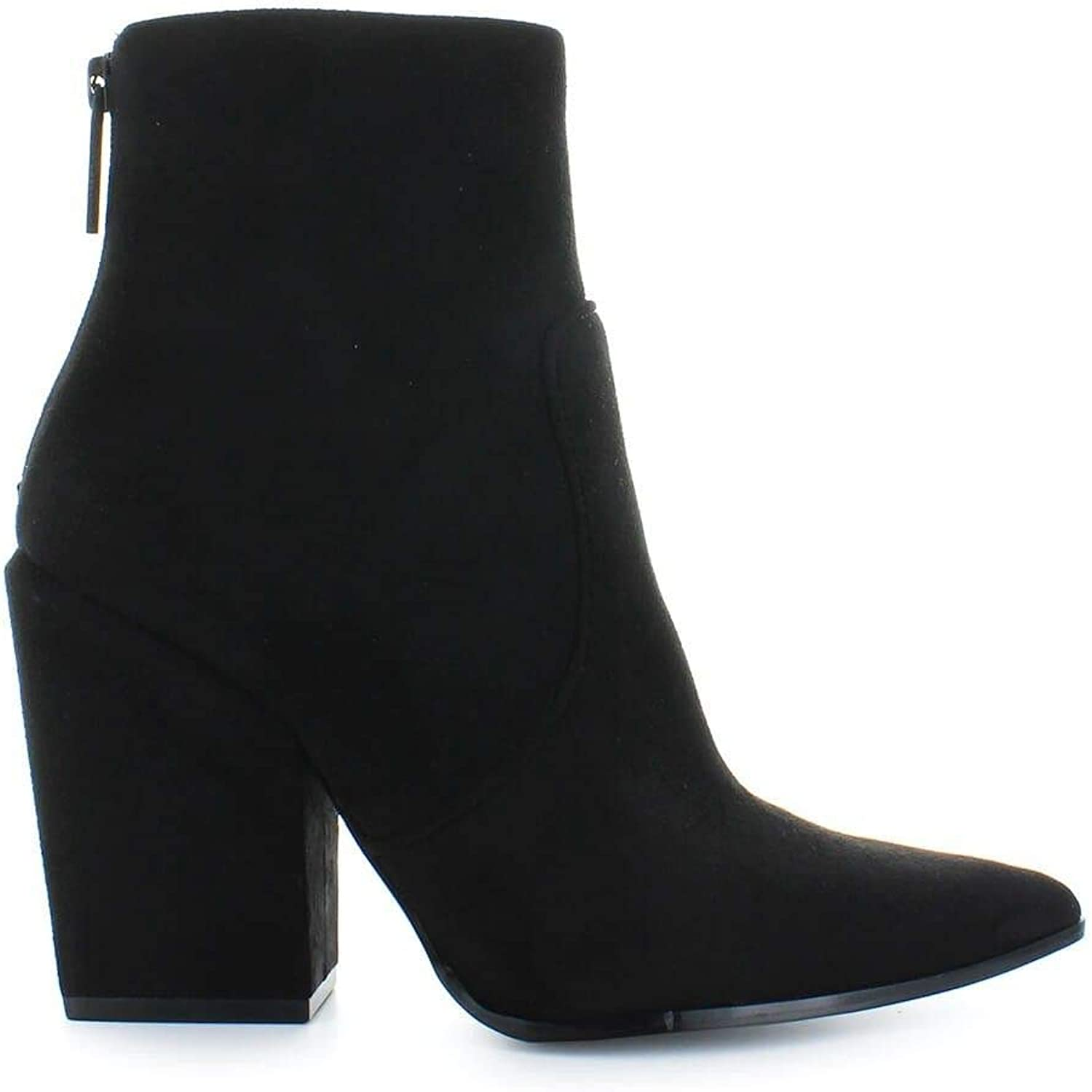 KENDALL + KYLIE Women's KKFIRE Black Suede Ankle Boots