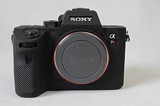 SONY ソニー PEN A7R3 A73 A7R III A7 III α7R3 α7R III α7 III ソニーアルファ7R III ソニーアルファ7 III カメラカバー シリコンケース シリコンカバー カメラケース 撮影ケース ライナーケース カメラホルダー、Koowl製作、外観が上品で、超薄型、品質に優れており、耐震・耐衝撃・耐磨耗性が高い (ブラック)