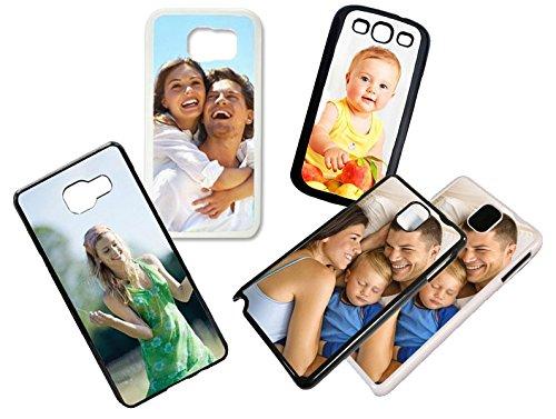 Handyhülle selbst gestalten für Samsung Galaxy-Serie * Cover Case Schutzhülle mit eigenem Foto, Farbe:Schwarz, Handymodell:Samsung Galaxy S5 Mini
