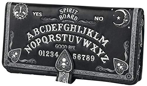 Nemesis Now Spirit Board geprägte Geldbörse, 19 cm, Schwarz, PU, Einheitsgröße