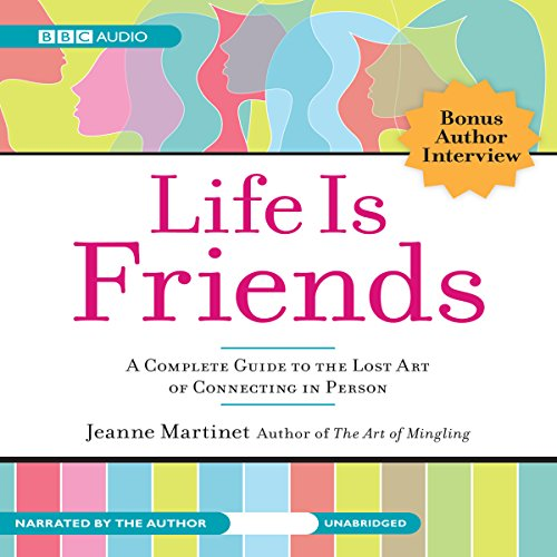 Life Is Friends audiobook cover art