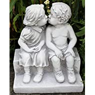 First Kiss Stone Effect Statue