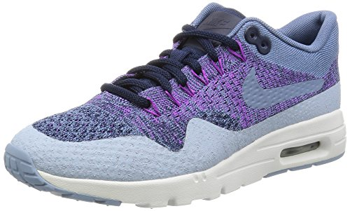Nike Womens Air Max 1 Ultra Flyknit Sneakers Running Shoes Blue 6 Medium (B,M)