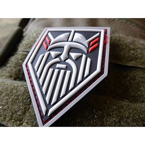 Jackets To Go JTG Odin GOD of Vikings, fullcolor / 3D Rubber Patch