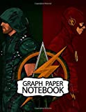 Notebook: The Flash Superheroes American Comic Books  DC Comics Barry Allen Justice League Teen Titans Wonder Woman, Superman and Batman DC Universe, ... For Boys And Girls, 110 Pages 8.5 x 11 Inches