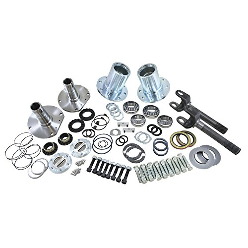 Yukon Gear & Axle (YA WU-08) Spin Free Locking Hub Conversion Kit for Jeep TJ/XJ/YJ Dana 30 Differential