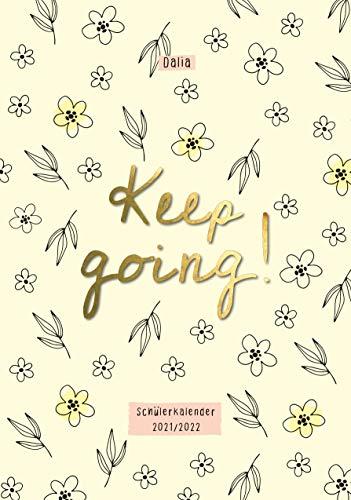 Keep going! Dalia Schülerkalender 2021/2022