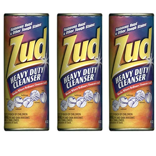 Zud Rust & Stain Remover Powder 6 Ounces, 3 Pack