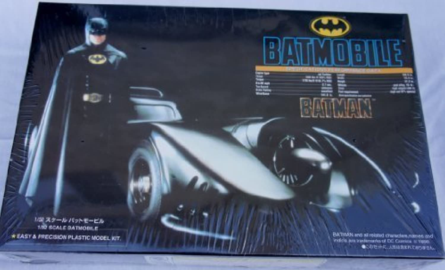 Batmobile 1 32 Scale Batmobile Plastic Model Kit by Batmobile 1 32 plastic model kit