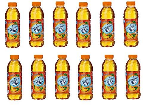 12 x San benedetto té helado de melocotón Pesca el PET 50 cl té The Refresh Soft Drink