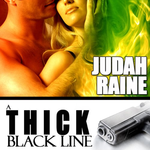 A Thick Black Line audiobook cover art