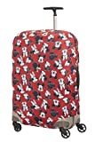 Samsonite Global Travel Accessories Disney - Funda para Maleta en Lycra , M, Rojo (Mickey/Minnie...