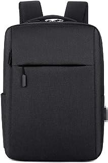 Mochila antirobo para hombres y mujeres, informal, carga USB, gran capacidad, para ordenador de viaje