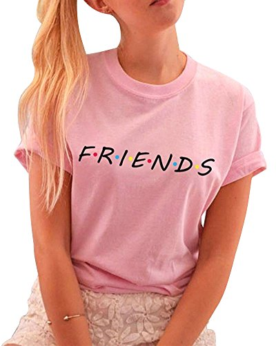 T-shirt BLONDIE 01//Brownie 01-Pink amiche-Migliori amici-Sister