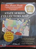 State Series Quarters Collector's Map