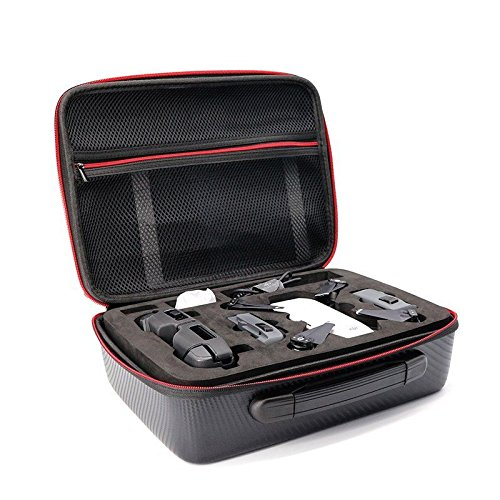 HUL Drone Case for DJI Spark and Transmitter Controller - Water-Proof and Impact Resistant