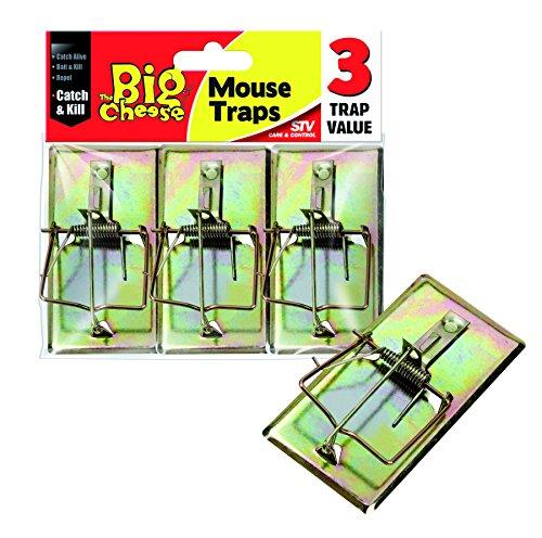 Dicoal STV105 - Cepo para Ratones-Pack de 3