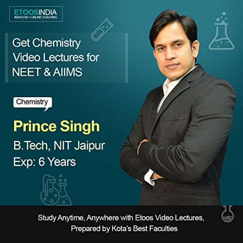 ETOOSINDIA Complete Physical & Inorganic Chemistry Video Lectures for NEET by Prince sir.[USB Mode]