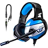 PS4 Gaming Headset TUSBIKO Noise Cancelling Gaming...