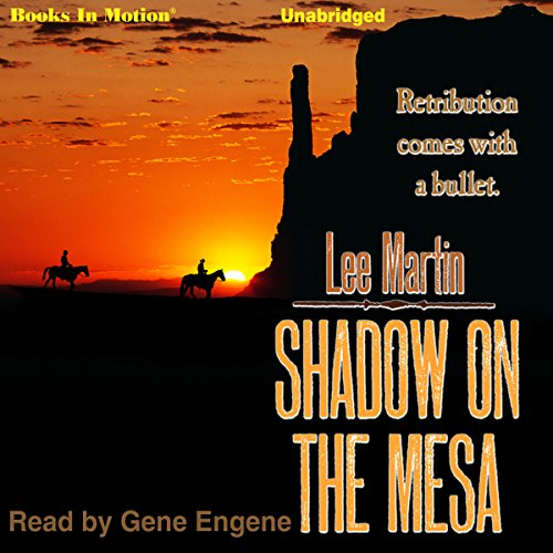 Shadow on the Mesa audiobook cover art