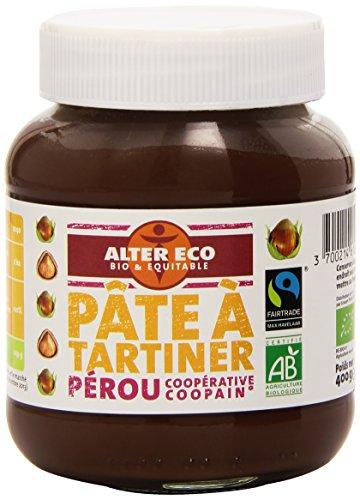 Alter Eco Pâte à Tartiner Noisettes Bio et Equitable 400 g (Épicerie)