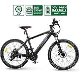 HOTEBIKE 36V 350w Ebike Electric Bike 26' E Bikes for Adults Aluminum Alloy Mountain Bicycle with 21...