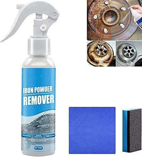 Aerosol Multiusos Para Eliminar óXido De AutomóViles,Spray Neutral Para Eliminar óXido, Spray Eliminador InstantáNeo De óXido, Adecuado Para El Mantenimiento Y El Traje De Limpieza (256ML)