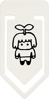 Azeeda 91mm 'Sprout Man' Large Plastic Paper Clip (CC00033881)