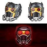 Tiff-K Star Cosplay Lord Mask, Guardians Helmet Peter Quill Decorative Mask Electronic Mask Cosplay Costume Halloween Party Masquerade