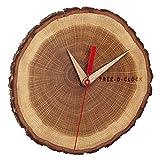 TFA Dostmann Tree-O-Clock Wanduhr aus Eichenholz