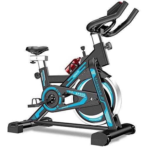 PLAYH Bicicleta Estática, Bicicleta Ergométrica, Bicicletas De Spinning para Interiores con Transmisión por Correa, Bicicleta De Fitness para Bicicletas De Interior De Oficina En Casa