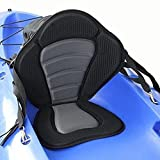 JAYEGT Kayak Seat High Back Canoe Seat with Back Support for Universal Sit on Top Saturn Deluxe Kayak Backrest