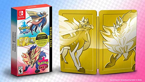 Pokemon Sword & Pokemon Shield: Double Pack Collectible SteelBook Edition - Nintendo Switch