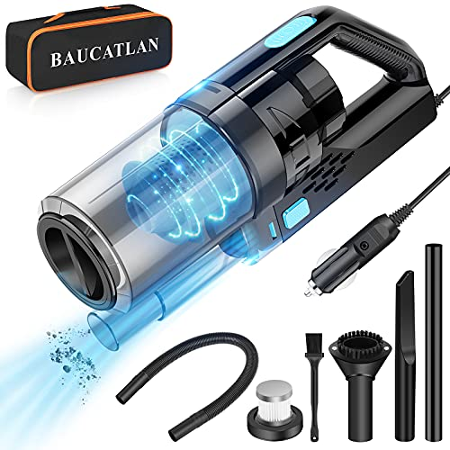 Baucatlan Car Vacuum with Powerful Suction, Portable Car Vacuum Cleaner with...