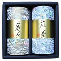 鈴木園 【のし・包装可】宇治茶 高級煎茶・上煎茶セット(100g×2) CR-50 SZK-CR-50