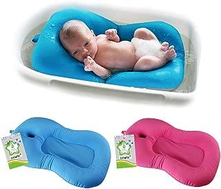 belupai Alfombrilla de baño para bebé recién nacido,