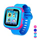 Smart Watch for Kids Girls Boys,Kids Game Smart Watch with Game Camera Touch Screen Pedometer Perfect Holiday Birthday Toys Gifts