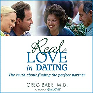 Real Love in Dating audiobook cover art
