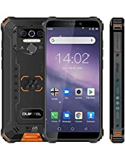 Rugged Cell Phone Unlocked WP5,Android 10 Rugged Smartphone,8000mAh Battery,5.5 Inch 4GB RAM+32GB ROM