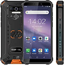 Rugged Cell Phone Unlocked OUKITEL WP5,8000mAh Battery, Android 10.0 Rugged Smartphone, 5.5 Inch 4GB RAM+32GB ROM, IP68 Wa...