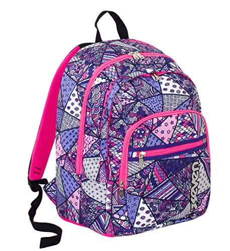 Seven Fit Backpack - Festival Zainetto per bambini, 42 cm, 28 liters, Viola (Violet)