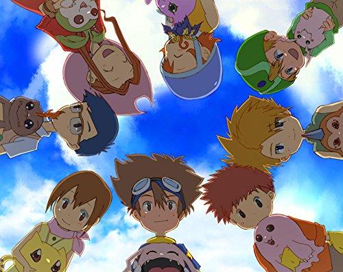 JUNLIZHU Digimon Adventure Bokura no War Game (44cm x 35cm | 18inch x 14inch) Silk Print Poster Silk Printing / A99FC5