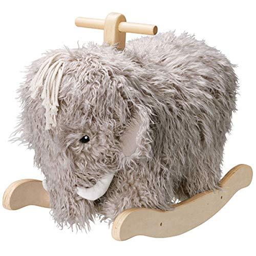 Kids Concept 413761 - Peluche a Dondolo da Rocking Horse Neo Mammoth, Multicolore