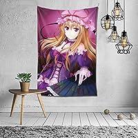 八雲紫 タペストリー 多機能 おしゃれ ポスター な壁掛け 個性ギフト 新居祝い 壁飾り 家 リビングルーム ベッドルーム 飾り